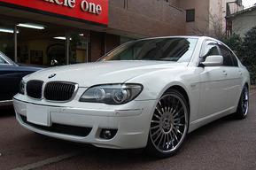 BMW E66 後期 22インチ FORGIATO DISEGNO 取り付け施工