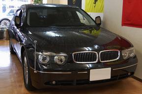 BMW E66 純正モニター地デジ取り付け 施工 E65もOK