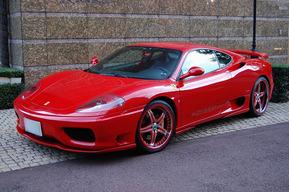 ASANTI AF144 サイド&タイヤハウス内LED装飾取り付 Ferrari 360モデナ