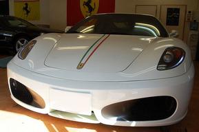 フェラーリ F430 ポジション&内装LEDバルブ 外装ワンオフステッカー施工