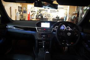 W212内装ホワイトアンビエントライト LEDポジション&内装LED