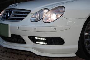 ワンオフデイライト4灯&カールソンSL55用RSフロントリップ