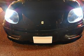 フェラーリ360モデナ ポジション&ナンバー灯LED化