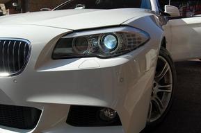 BMW F10純正HIDバルブ交換6000K 内装LED化