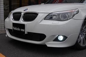 BMW E61 フォグランプHID化