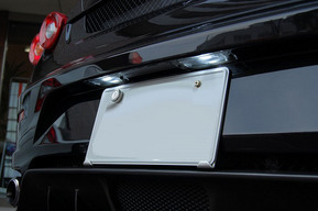 フェラーリF430 ロービーム8000kHIDバルブ取り付け ポジションLED化