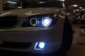 BMW E66 DVDチェンジャー I-POD接続 フォグランプHID キャリパー塗装