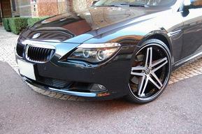 BMW E63 LEXANI R-FIVE 22インチ取り付け