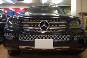 ベンツX164 ヘッドライトインナー塗装 GLクラス