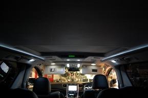 内装LED間接照明ホワイトアンビエントライト トヨタ ヴェルファイア FOGHID
