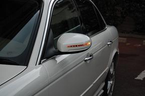 WALDエアロドアミラーカバー取り付け塗装 ジャガーX350