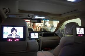 レクサスLX570 2013yモデル 社外カーナビ取り付け 内外装バルブ フルカスタム