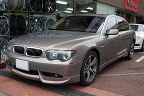 BMW E65 ハーエアロセット取り付け