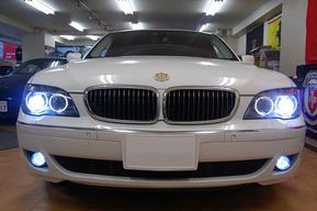 BMWエンブレムドアカーテシLED E66