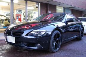 BMW E63 純正アルミ モール テール ブラック塗装カスタム