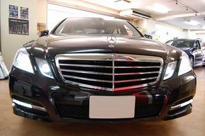W212 アヴァンギャルド 純正仕様LEDデイライト 取り付け