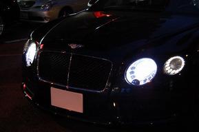 NEW GT ヘッドライトバルブHID交換 LEDナンバー灯 レーダー取り付け