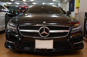 BRABUS フロントリップ AMGスポーツパッケージ専用 W218ベンツ