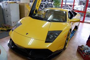 ヴェイルサイドエアロ フルキット 内装イエローカーボン ランボルギーニ ムルシエラゴ  LP620