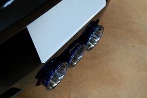 フェラーリ458スパイダー パワークラフト ハイブリッドエギゾースト取り付け