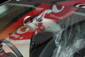アウディA4 ドライブレコーダー取り付け AUDI
