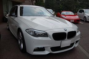 BMW F10 YUPITERUレーダー 取り付け