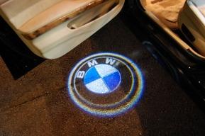 BMW E90 ドア下にLEDロゴ ドアカーテシ LEDイカリング LEDナンバー灯バルブ カスタム