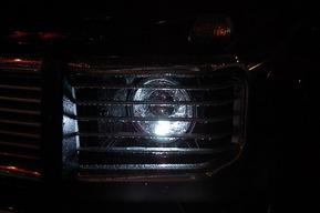 07y後期ルックヘッドライト 後期ルックテール HIDカスタム ベンツW463 AMG G55