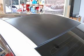 BMW F12 ルーフカーボンラッピング ドライブレコーダー取付 カスタム