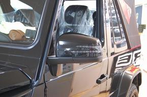 格納機能付き 後期ドアミラー ASSY ベンツW463 G55 カスタム G63ルック G65