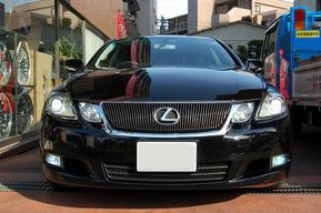 LEXUS GS430 フォグランプHIDキット加工取り付け ヘッドライトバルブHID&LEDポジション