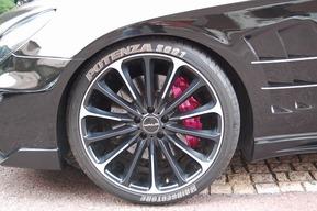 タイヤレターカスタム ベンツW219 AMG CLS63