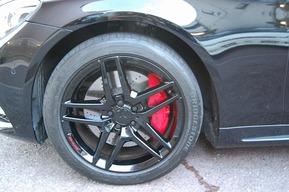 ベンツW222 AMGパッケージ キャリパー塗装カスタム ホイール塗装