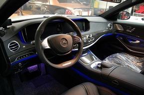 ベンツW222 AMG S63カーボンインテリ仕様カスタム 内装フルカーボン 内装カーボン張り替え