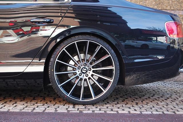 ベントレー フライングスパー Zoni Z14 22インチホイール取り付けカスタム|カスタム、ドレスアップ事例紹介