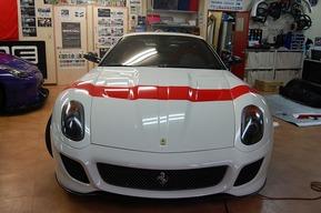フェラーリ599GTO オプション仕様ラッピングカスタム