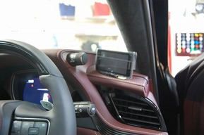 レクサスLS500 レーダー取り付け YUPITERU 指定店専用モデル