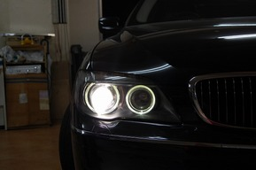 BMW E65 HID、LEDバルブカスタム