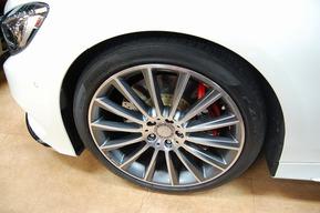ベンツW217 Sクーペ キャリパーキャンディーレッド塗装カスタム