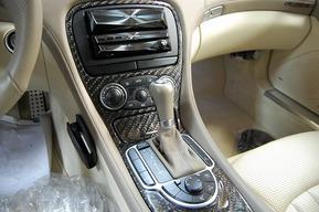 MANSORYカーボン 仕様 ビックカーボン加工 ベンツR230 AMG SL55 内装カーボン