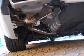 ベンツW222 S550 可変マフラー取り付けカスタム リモコンにて音量変更 可変バルブ