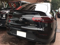 AMG GLC43 スモークテールレンズ 塗装 カスタム BENZ